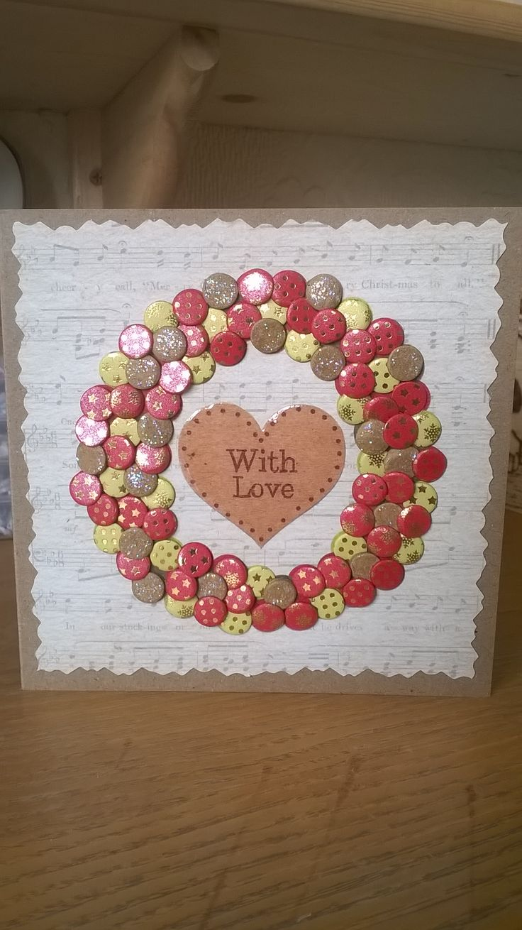 Made by Angela - I just adore Craftwork cards, I have used the create with candi kit, glitter gel and loads of lovely candi pops. It's very addictive! :)