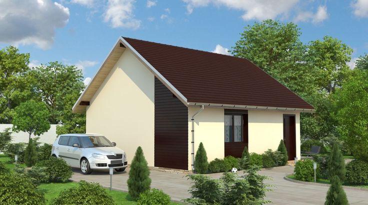 Proiecte de case de lemn ieftine. Locuinte de la 6.800 de euro