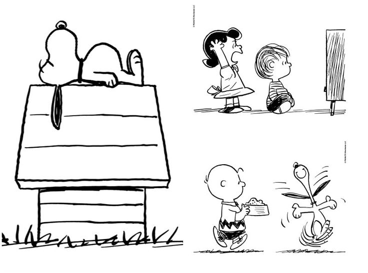 Peanuts party ideas: Find 10 free printable Peanuts coloring pages at the official website