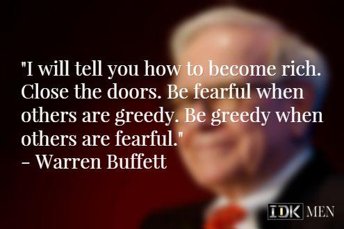 Another quote from Warren Buffett.  #warrenbuffett #warrenbuffettquotes #kurttasche