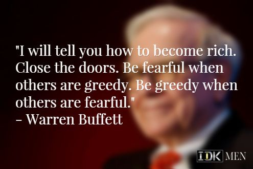 Another quote from Warren Buffett.  #warrenbuffett #warrenbuffettquotes #kurttasche