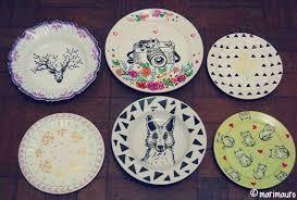 Resultado de imagem para prato decorativo porcelana