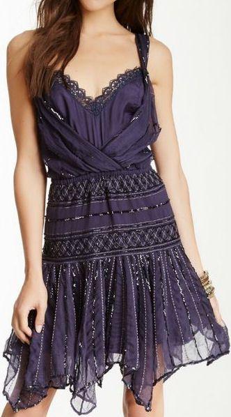 Shimmer Beaded Dress