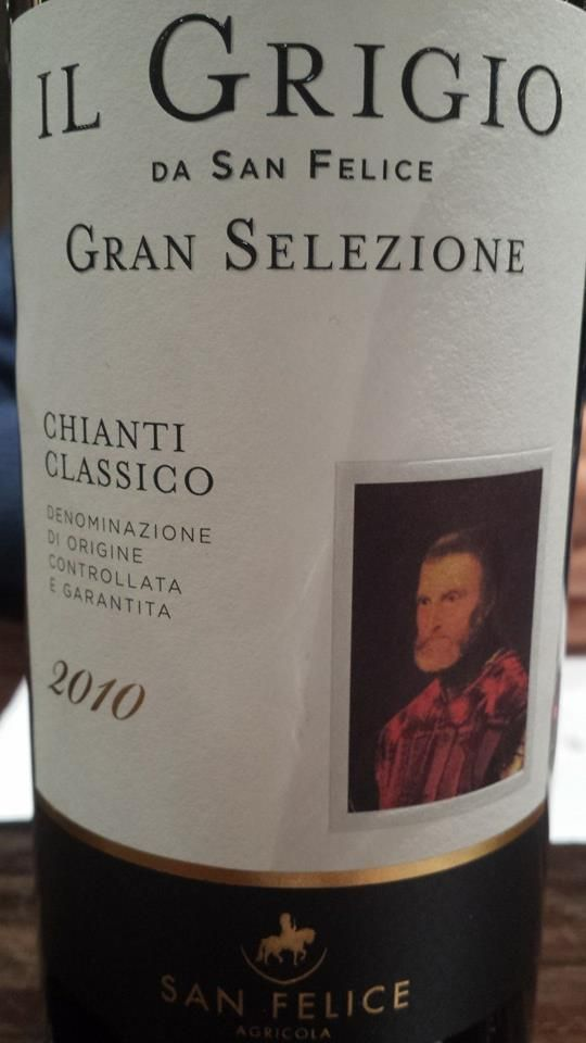 #Wine of the day // #Vin du jour : San Felice Agricola – Il #Grigio da San Felice – Gran Selezione 2010 – #Chianti Classico (17.25/20) http://vertdevin.com/vin/san-felice-agricola-il-grigio-da-san-felice-gran-selezione-2010-chianti-classico/