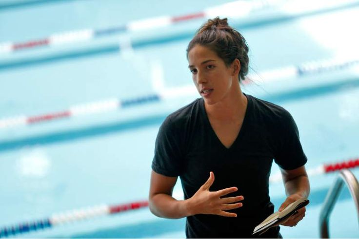 Olympic hopeful Maya DiRado has words of wisdom for local swimmers #Rio Olympics #Swimming