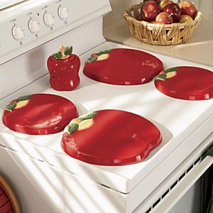 apple burner covers | Apple 4-Piece Burner Cover Set