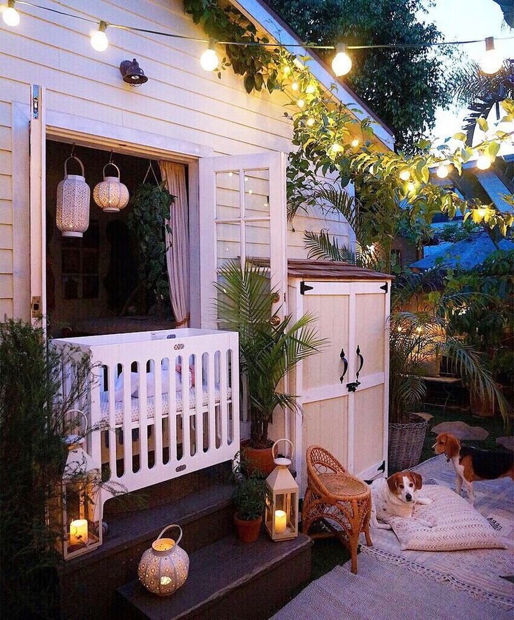 Best 25 backyard string lights ideas on pinterest patio lighting backyard lighting and deck - Gardening small space decoration ...