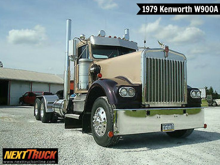 #ThrowbackThursday Check out this 1979 #Kenworth W900A Day Cab! View more Kenworth #Trucks at http://www.nexttruckonline.com/trucks-for-sale/by-make/Kenworth #Trucking #NextTruck