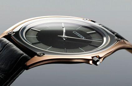 Citizen представили самые тонкие в мире часы на солнечной батарее