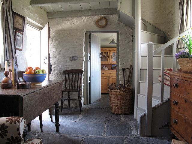 Plas Pennant Bakehouse On The Chirk Castle Estate N Wales Interior