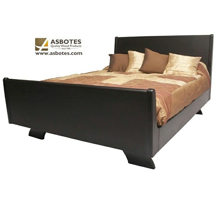Anushka Bed (Exclude bedding and mattress)  Available in various colours.  For more details contact us on (021) 591 - 0737 or go to our website www.asbotes.com