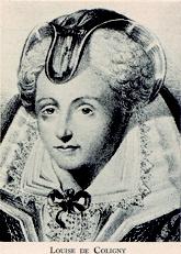 Louise de Coligny, de vierde vrouw van Willem van Oranje. #Oranjemarketing