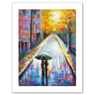 Paris Back Streets Canvas Print | Joss & Main