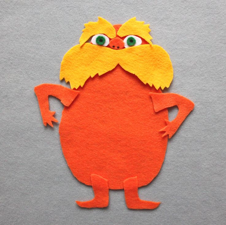 The Lorax- craft for Piper to do