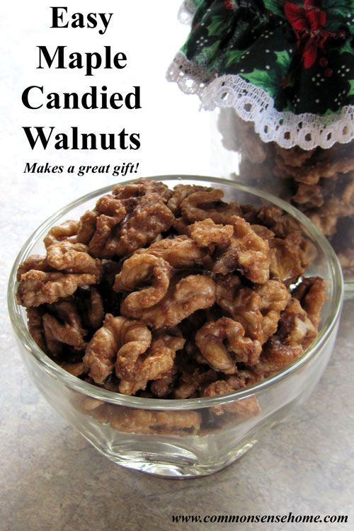 Maple Candied Walnuts, Plus How to Process Walnuts for Long Term ...