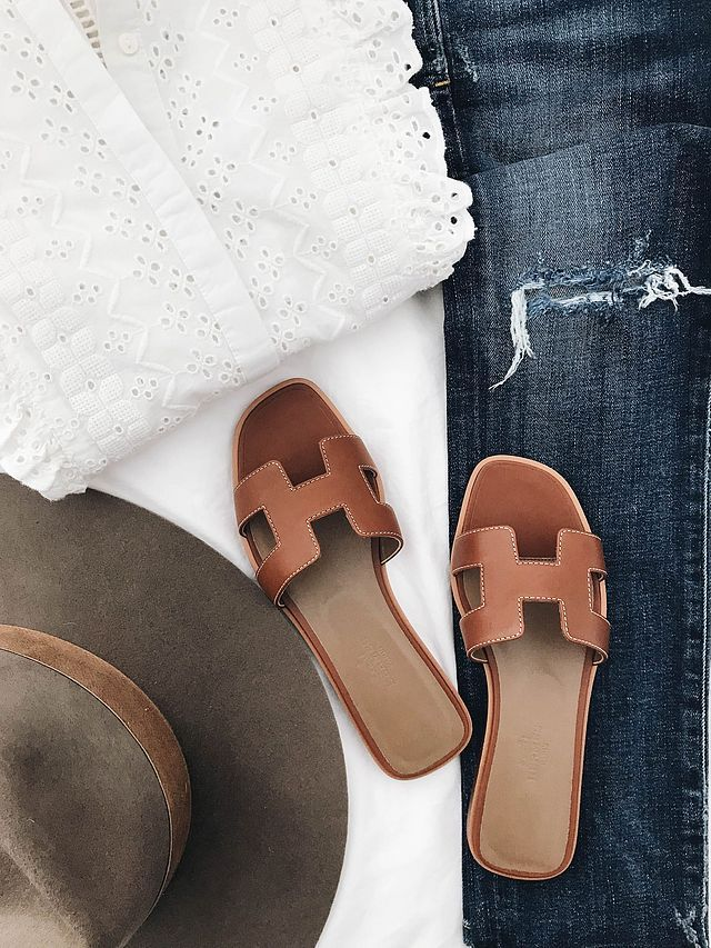 1db7eff88ea Designer Dupe  Hermes Oran Sandals (Crystalin Marie ...