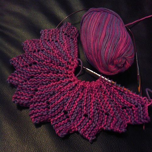 almost lost knit dishcloth pattern