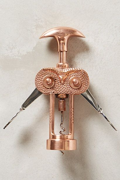 GIFTS FOR THE HOSTESS | Noctua Bottle Opener from Anthropologie $32