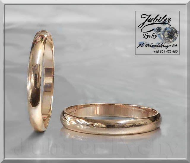 Złote obrączki półokrągłe – klasyczne. Promocyjna cena 150 zł netto za 1 gr wyrobu (+VAT) Wyprzedaż #Złote #obrąki #okazja #półokrągłe #klasyczne #złoto #Au583 #Gold #wed #biżuteria #wedding #ślubna #ślub #obrączka #ring #wesele #jubilertychy #wyprzedaż #Jubiler #Tychy #Jeweller #Tyski #Złotnik #Zaprasza #Promocje:  ➡ jubilertychy.pl/promocje 💎