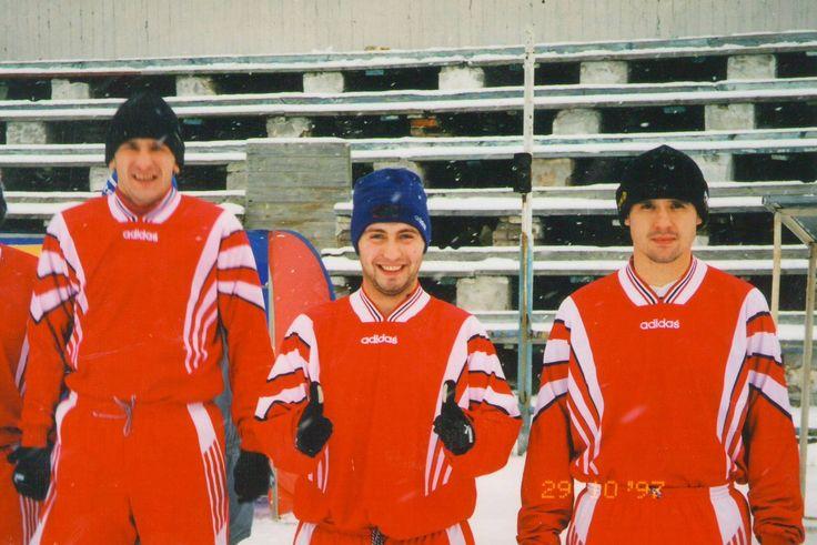 Андрей Князев в центре
