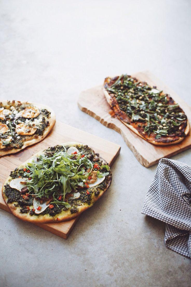 Trio of Vegan Pizzas from GOING VEGGIE