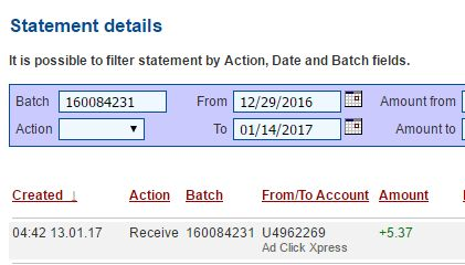 """""""I WORK FROM HOME less than 10 minutes and I manage to cover my LOW SALARY INCOME. If you are a PASSIVE INCOME SEEKER, then AdClickXpress (Ad Click Xpress) is the best ONLINE OPPORTUNITY for you."""""""