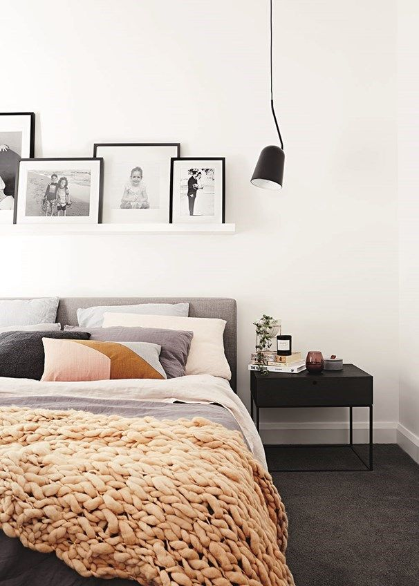 Clean, streamlined furniture steals the show in this Melbourne bedroom | Home Beautiful magazine Australia