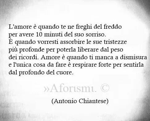 Amore.....