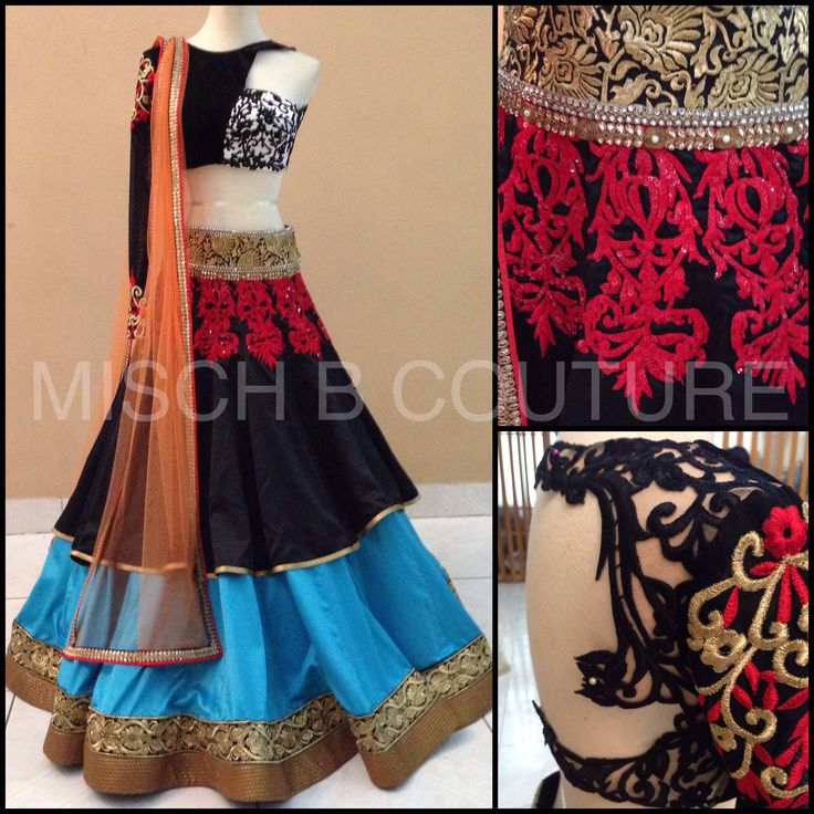 Lehenga by MischB COuture