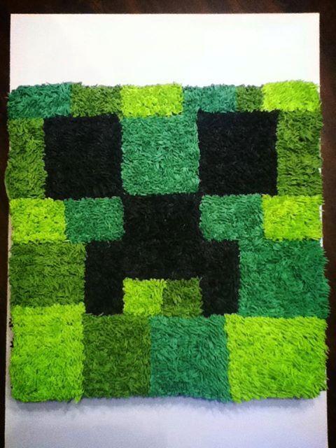 Minecraft cupcake cake | Birthday ideas | Pinterest ...