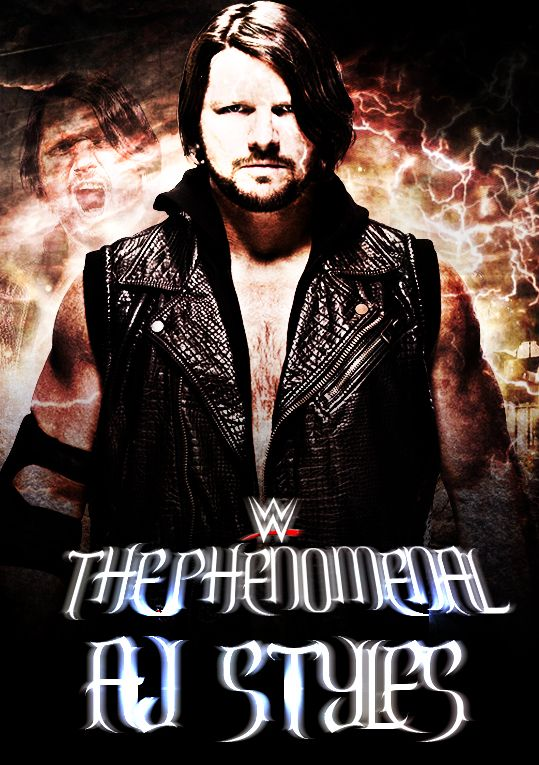 El Fenomenal A.J.Styles en WWE