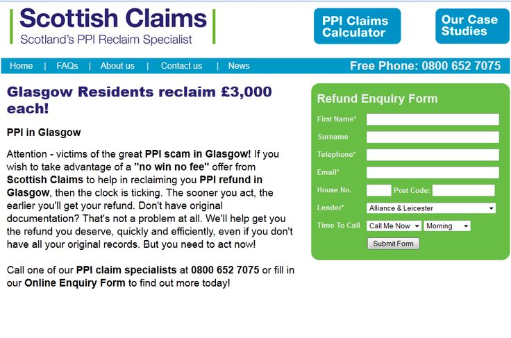Scottish Claims On Facebook  Ppi Claims Scotland