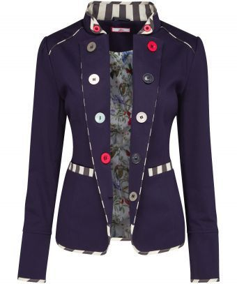 nautical knock-out. Combining the classic shape of our Joe Browns jackets with assorted buttons