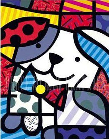 : Art Britto, Art, Romero Brito, Art Prints, Romerobritto, Romero Britto, Britto Gingers, Rosemary, Britto Art