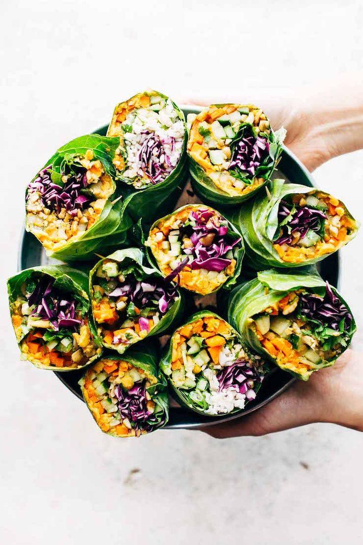 55 gesunde Wraps zum Mittagessen, die einfach zu machen sind   – Lunch
