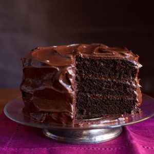 There's no doubt, this is the best chocolate layer cake you will ever have!