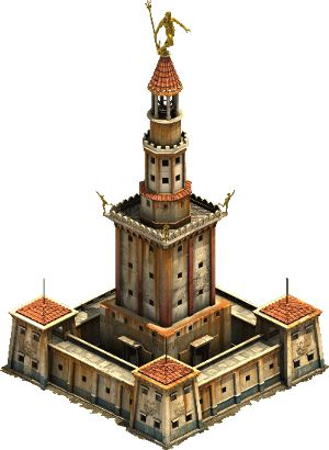 Lighthouse of Alexandria from the Forge of Empires video game
