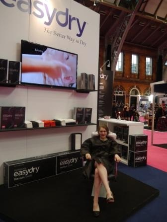 Professional Hairdresser Live 2013 - check out the Easydry stand and our beautiful model. www.easydry.com #prohairlive @easydryintl