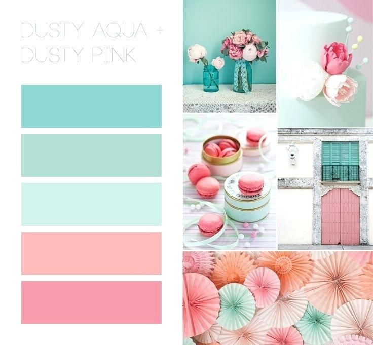 Image Result For Aqua Color Palette Coral Bathroom Decor Color Palette Pink Room Colors