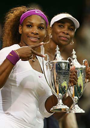 Serena, Venus Williams win Wimbledon doubles title - Tennis - SI.com