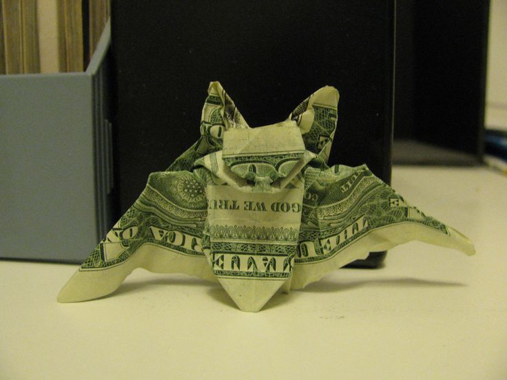 Money Origami Animals - MANY DESIGNS! Made of Real Dollar ...