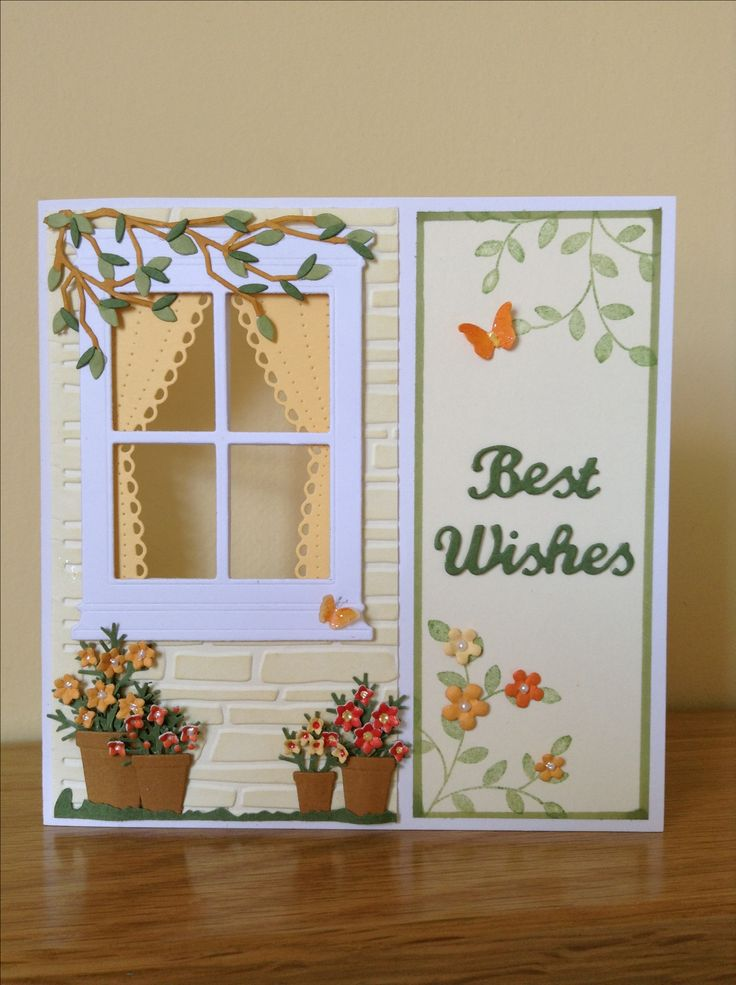 Card for a friend (previous pinner comment) Sweet card, I wouldn't mind being the friend that received this!
