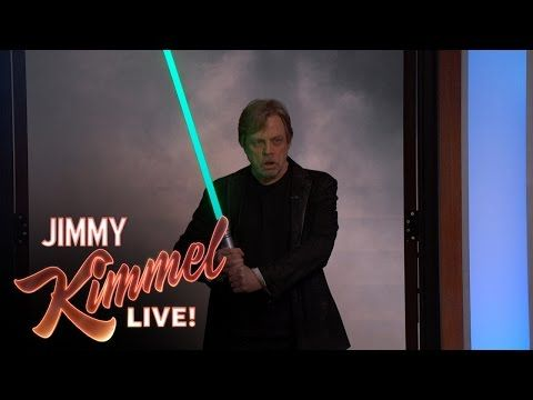 Star Wars Fan Adam Scott Surprised By His Idol Mark Hamill  |  Adam Scott is a huge Star Wars fan so in honor of Star Wars Day guest host Kristen Bell made his dreams come true with a surprise guest. | Jimmy Kimmel LIVE