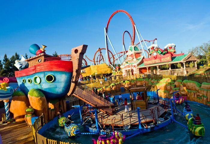 Parque de atracciones PortAventura World, en Salou, Tarragona