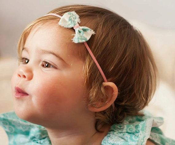 14 best Tiny Infant Headbands images on Pinterest | Newborns ...
