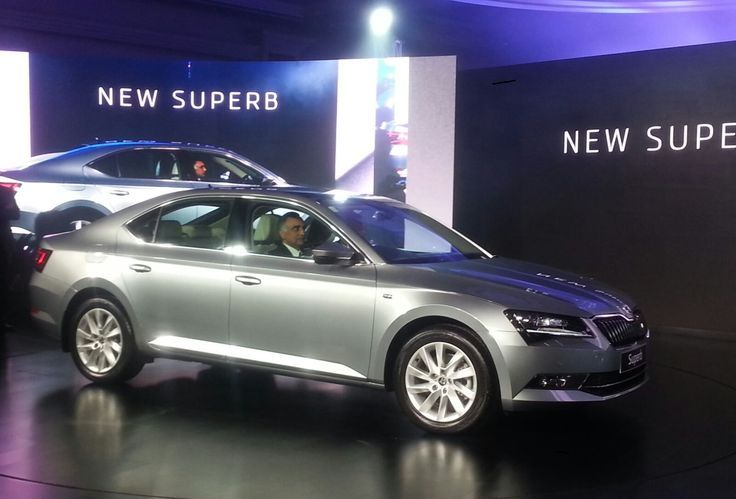The 2016 Skoda Superb Has Been Launched In India At Rupees 22 68
