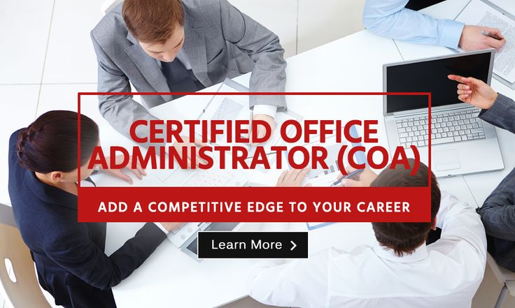 Certified Office Administrator from the American Certification Institute, USA. Learn more http://www.blueoceanacademy.com/courses/certified-office-business-administrator.html