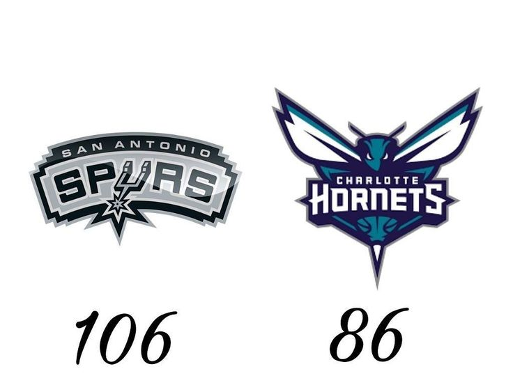 Resultados partidos de anoche 1:00a 1:30a.  @spurs vs @hornets  @orlandomagic vs @sixers  @trailblazers vs @washwizards  @raptors vs @atlhawks  #nba #nbamatch #basket #basketball #baloncesto #sanantonio #spurs #charlotte #hornets #orlando #magic #philadelphia #sixers #portland #blazers #whasington #wizards #toronto #raptors #atlanta #hawks
