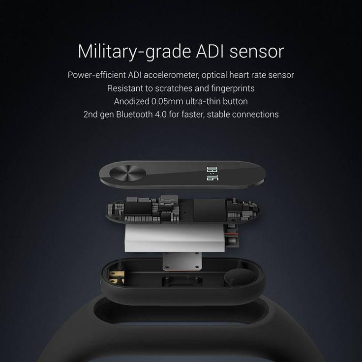 Nueva pulsera fitness Xiaomi Mi Band 2: pantala OLED, monitor de frecuencia cardiaca y 20 días de batería por 23$