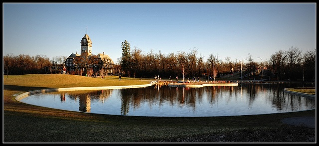 Duck Pond in Assiniboine Park--Winnipeg, MB
